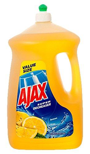 Ajax 149110 Ultra Dish Liquid, Super Degreaser Lemon, 90 fl. oz Colgate Ultra Dishwashing Liquid