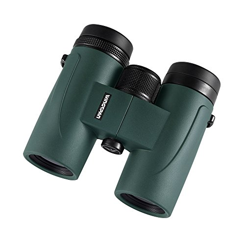 Wingspan Optics GoHawk HD 8X32 Compact Binoculars for Bird Watching. Phase Coated. Upgrade Your Outdoor Viewing Experience with Brighter, Crisper, and Clearer Images. Waterproof, Fogproof. Wideview
