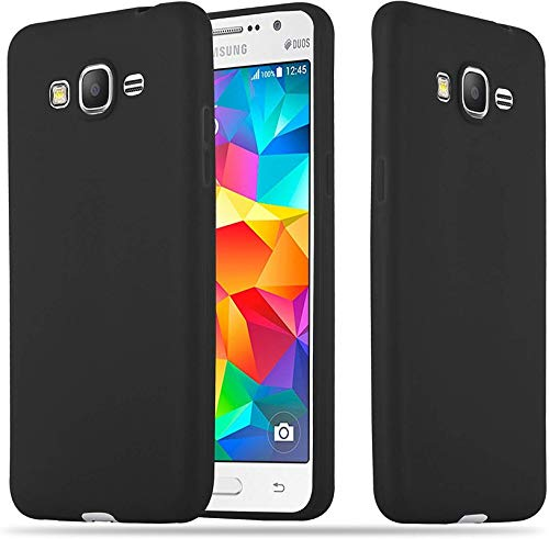 FITSMART Back Cover for Samsung Galaxy Core Prime  Silicone Black