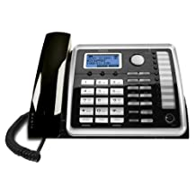 RCA 2-Line Corded Expandable Desk Phone