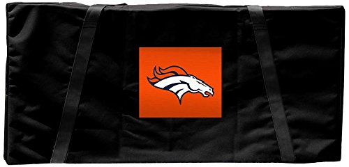 (Victory Tailgate Denver Broncos NFL Regulation Cornhole Carrying Case)