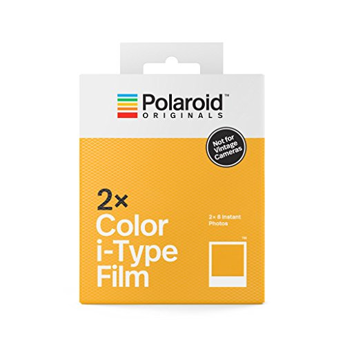 Polaroid Originals Instant Color Film for i-Type - Double Pack, White (4836)