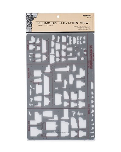Pickett Plumbing Elevation View Template (1162I)