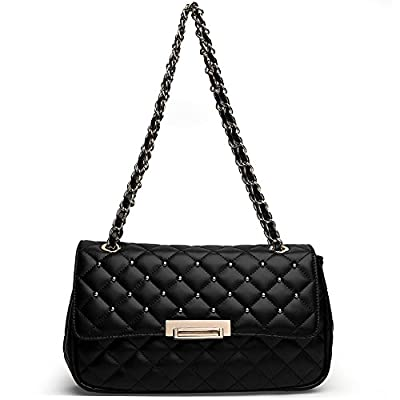 ANA LUBLIN Leather Handbags for Women Fashion Tote Purse Crossbody Shoulder Bag Satchel
