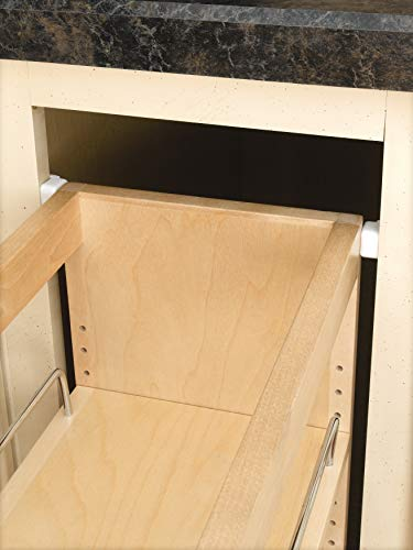 Rev-A-Shelf - 448-BC-5C - 5 in. Pull-Out Wood Base Cabinet Organizer by Rev-A-Shelf (Image #3)