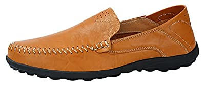 Salabobo FJQY-8159 New Mens Stylish Casual Loafers Slip-on Smart Driving Shoes