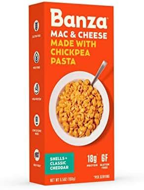 Mac & Cheese: Banza