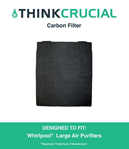 Crucial Air Air Purifier Carbon Pre Filter, Fits Whirlpool Models: AP300, AP350, AP450 and AP510, Compare to Filter Part # 8171434K, 8171434, Designed and Engineered by Crucial Air