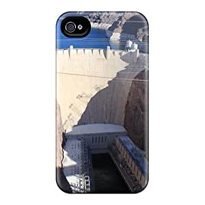 Jpw7242JewZ TinnySunshine Hoover Dam Durable Iphone 4/4s Tpu Flexible Soft Case