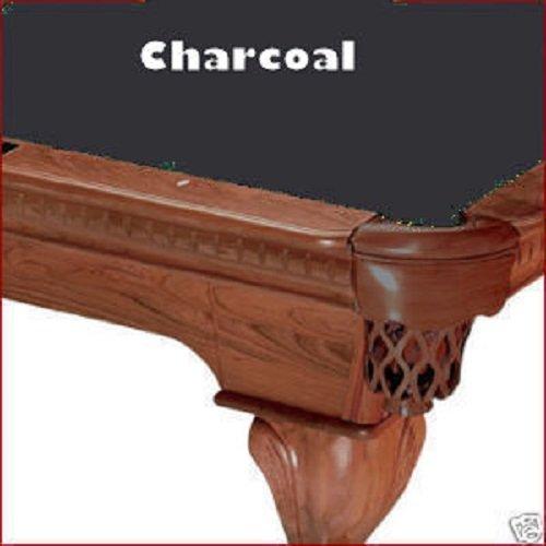 (8' Championship Invitational Teflon Charcoal Billiard Pool Table Cloth)