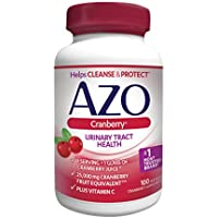 Azo Maximum Strength Cranberry Softgels, 100 Ct