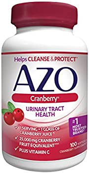 100-Count AZO Cranberry Urinary Tract Dietary Supplement (Softgels)