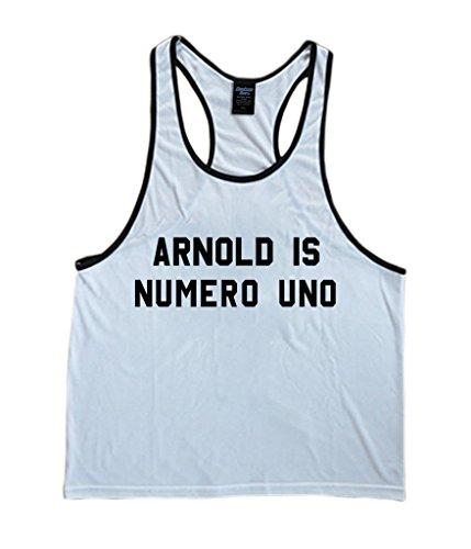 Arnold Schwarzenegger Numero Uno Men's Stringer Tank Top Medium