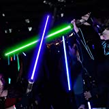 Huanchenda Light Sabers 2-in-1 LED FX Dual Light