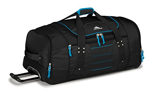 high-sierra-ultimate-access-30-inch-wheeled-duffle-black-blueprint-checked-medium