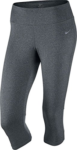 Nike Women's Dri-Fit Epic Run Capris - X-Large - Black/Cool Grey