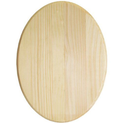 Walnut Hollow Pine Oval Plaque, 9 by 12 by 0.63-Inch for $<!--$7.99-->