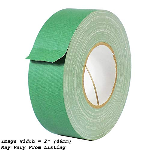 (MAT Gaffer Tape Green Low Gloss Finish Film - 6 in. x 60 Yards - Residue Free, Non Reflective, Better Than Duct Tape (Available in Multiple Colors))