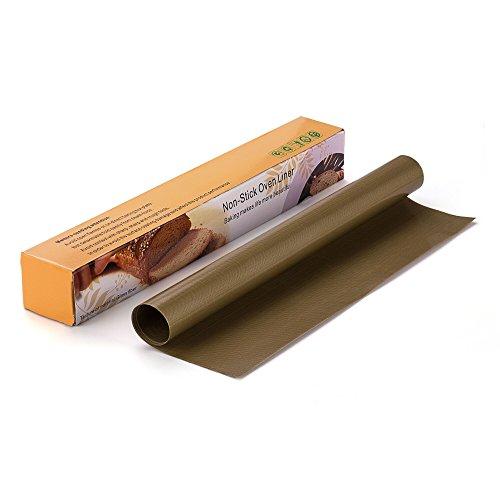 Backpapier OKCS® 2-er Set - wiederverwendbare Dauerbackfolie, antihaftbeschichtet Backmatte 40 x 33 cm