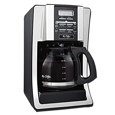 Mr. Coffee 12-Cup Programmable Coffeemaker with Water Filtration, SJX33GT
