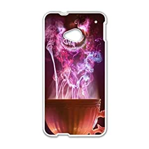 HTC One M7 phone cases White Galaxy Cat fashion cell phone cases HYTE5036532