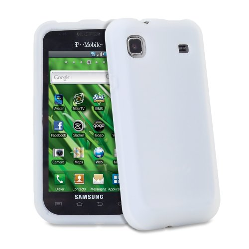 Fosmon Soft Silicone Skin Case for Samsung Galaxy S 4G / Vibrant T959 (Clear)