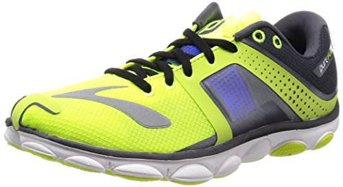 f8af9c841d111 Brooks Men s PureFlow 4 Nightlife Anthracite ElectricBlue Running Shoes US  10.5 D