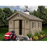 Best Barns Cambridge 10′ X 16 Wood Shed Kit