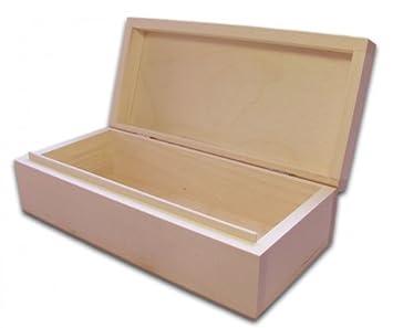 Sehr Gut Holzbox, Aufbewahrungsbox, Holz-Schachtel, Linde unbehandelt  YS86