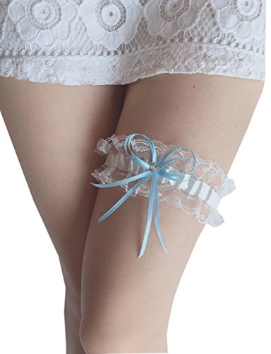 Czy accessories Women Lace Wedding Garters for Bride Stretch Prom Garter with Toss Away