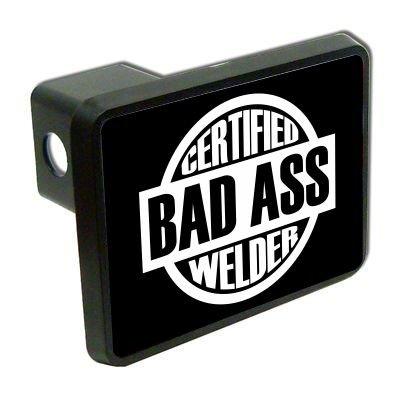 """Certificado Bad Ass soldador 2 """"Cubierta de enganche de remolque Remolque enchufe camión"""