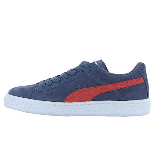Puma Suede Classic Jungen Sneaker Grau