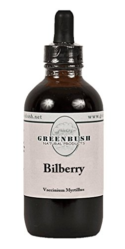 Bilberry Alcohol-Free Concentrated Liquid Extract. Super Value Size 4oz Bottle (120ml) 240 Doses of 500mg. The top herb for Eyesight, Vision and Night Vision Support, and Circulatory System (Bilberry Tincture)