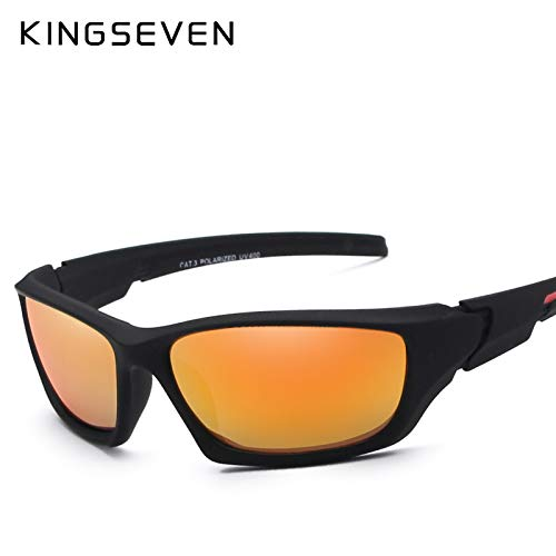 1c52cf71dc Bharat Ventures KINGSEVEN Fashion Polarized Sunglasses Men Luxury Brand  Designer Vintage Driving Su  Amazon.in  Clothing   Accessories