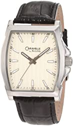 Caravelle by Bulova Men's 43A102 Leather strap Watch