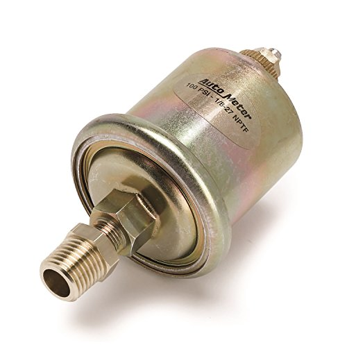 AutoMeter Auto Meter 990342 Marine Accessories Sensor, Oil Pressure, 0-100Psi, 1/8