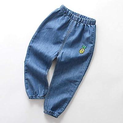 Pantalones vaqueros para niños y niñas, diseño vaquero desgarrado ...
