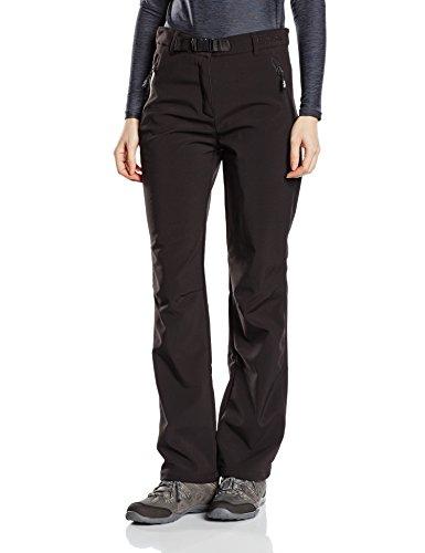 Softshell-Hose Outdoor-Hosen für Damen von Fifty Five - Orac black44 - winddichte wasserfeste Outdoor-Bekleidung