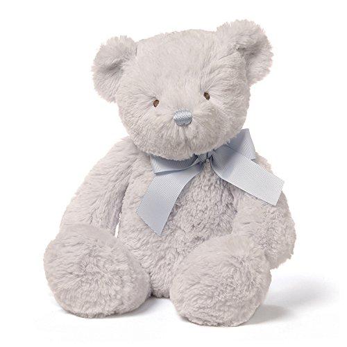 - Baby GUND Peyton Teddy Bear Stuffed Animal Plush, Blue, 15