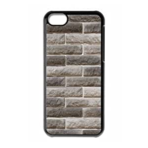 Brick Wall Customized Durable Hard Plastic Case Cover LUQ210836 For Iphone 5C