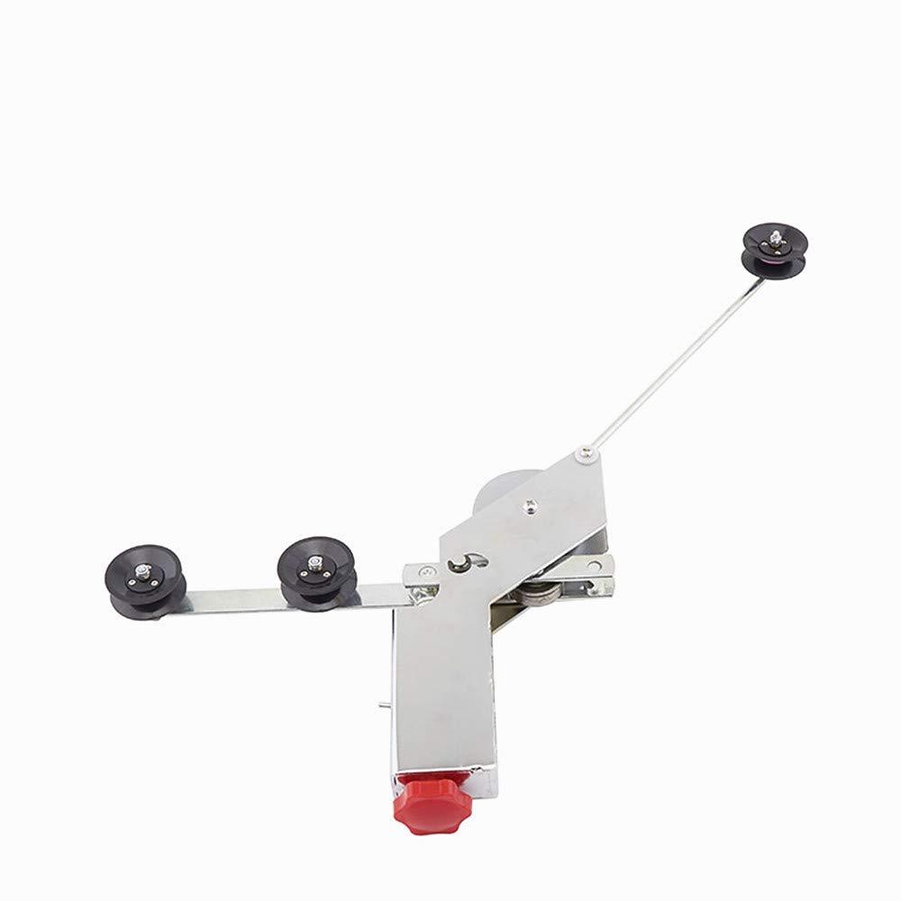 JIAWANSHUN Single Tension Spring Winding Machine Stranding Machine Gun Wire Machine Single Spring Tension Gun with Guide Wheel 0.08-0.35mm (Plastic Guide Wheel) by JIAWANSHUN