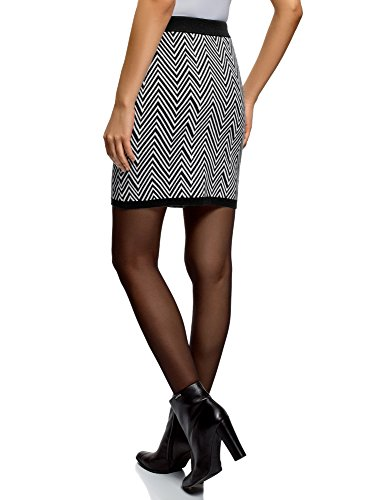 Zag a oodji Zig Nero 2910g in Jacquard Collection Donna Gonna Tw0an0U7q6