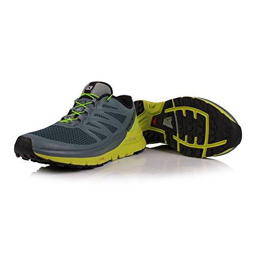 Acid Max Weather Mens Shoes Lime Running Sense Trail Black Pro Salomon Stormy qztO8