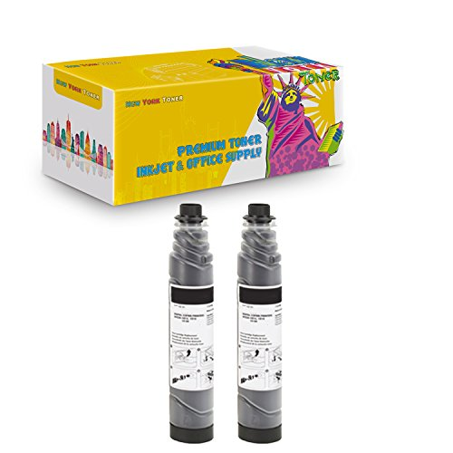 New York TonerTM New Compatible 2 Pack 887725 885149 Type 3100D High Yield Toner for Ricoh : 340. --Black