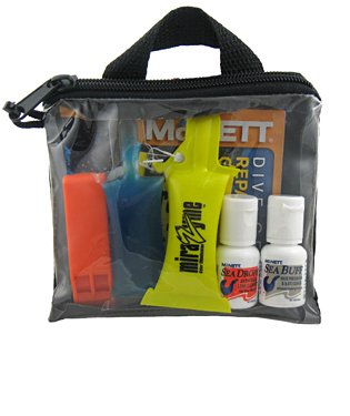 McNett Beginner Open Water Scuba Diver Care Value Pack, Mask Cleaner, Scuba Whistle, Diving Whistle, Mask Defogger