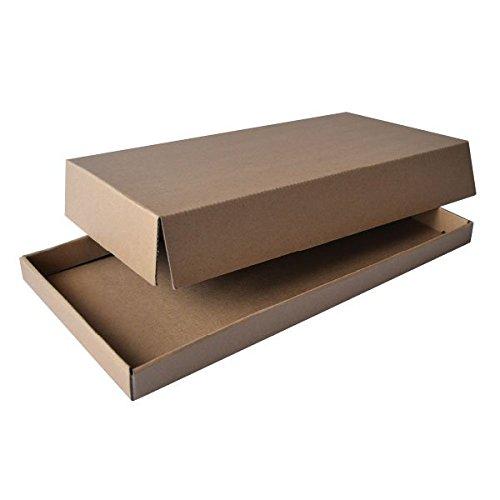 PacknWood Cardboard Tray, Kraft Brown, 10.24'' x 12.8'' (Case of 100)