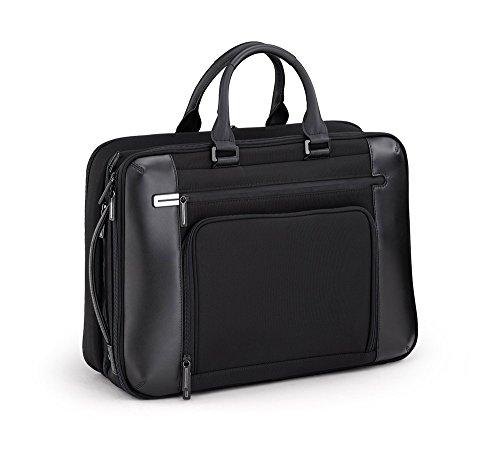 Briefcase Black Zero Halliburton (Zero Halliburton PRF 3.0 - Large Expansion Briefcase, Black, One Size)