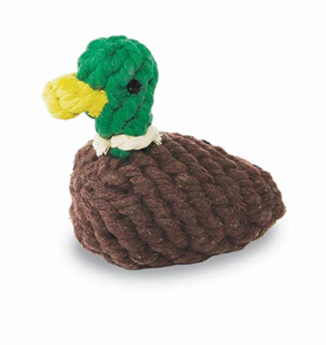 MUDPIE Brown Duck Dog Rope Toy