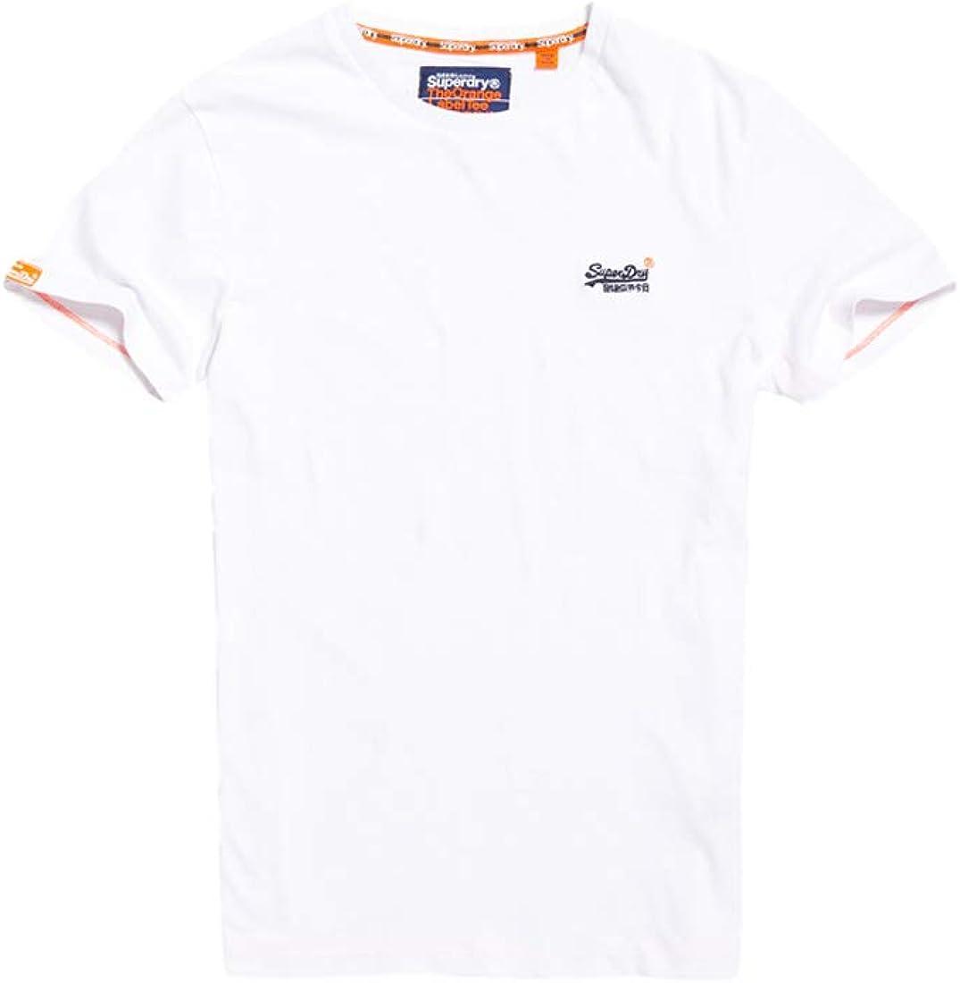 TALLA XS. Superdry Label Vntge Emb S/S tee Camiseta de Tirantes para Hombre