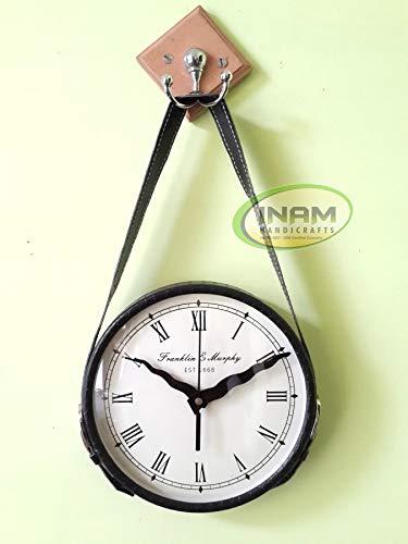 Amazon Com Inam Antique Designer Hang Up Wall Clock Vintage Style